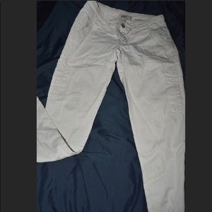 Size 3 Jolt white Skinny jeans